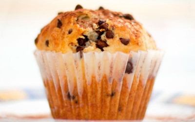 Muffins con chocolate